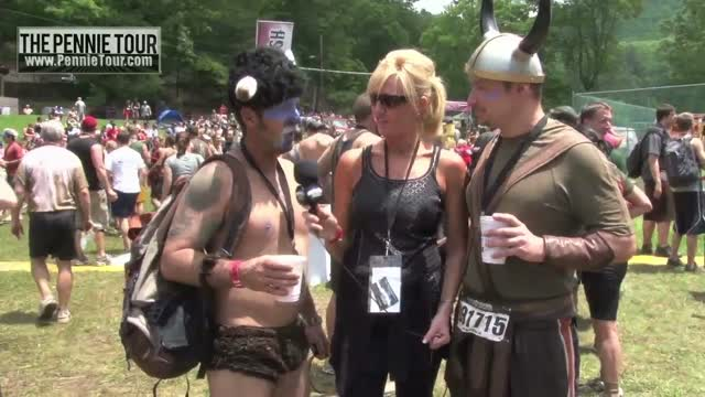 The Warrior Dash in Mountain City Georgia  The Pennie Tour