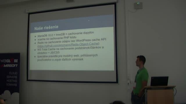 Martin Krcho: WordPress a cachovanie modulov