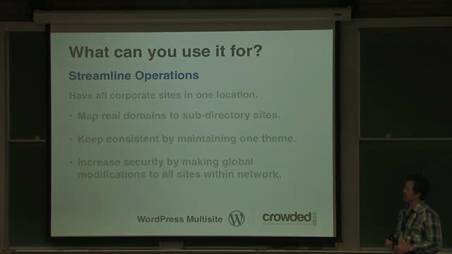Wes Chyrchel: WordPress Multisite