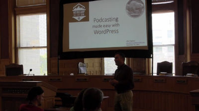 John Pugliano: Podcasting Made Easy with WordPress