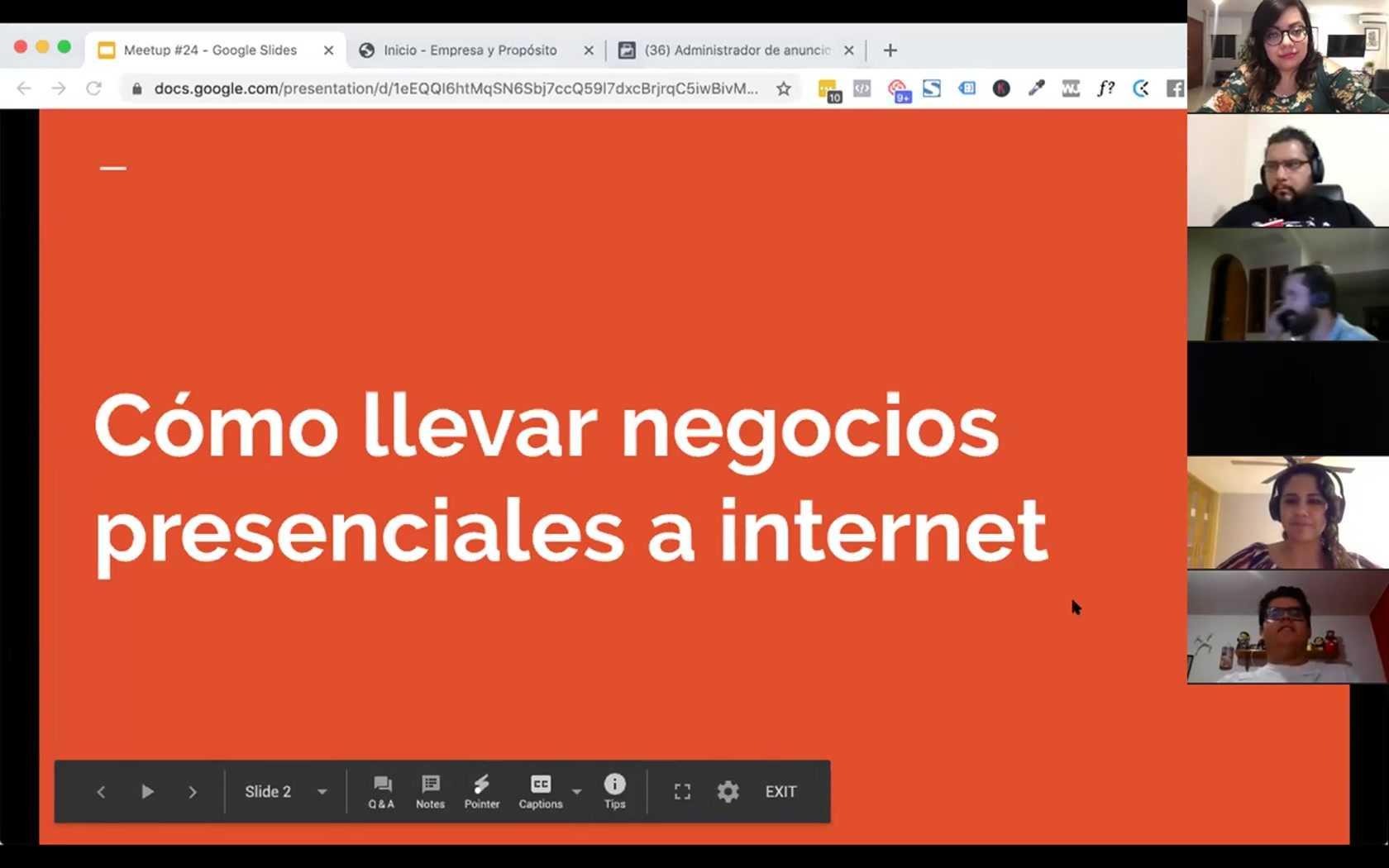 Jean Saldaña, Maryl Gonzalez: Cómo llevar negocios presenciales a internet