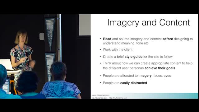 Ngaire Ackerly: Designing Websites for users