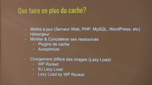 Jean-Baptiste Marchand-Arvier: Comment améliorer le temps de chargement de son site WordPress ?