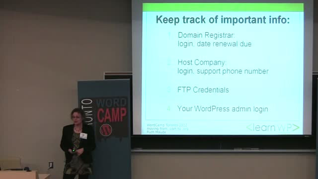 Ruth Maude: Moving from WordPress.com to WordPress.org