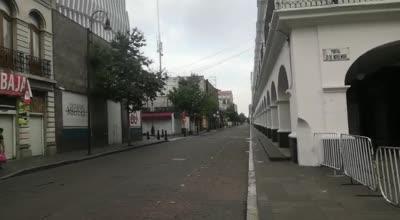 Así lucen las calles de Toluca tras cierre del primer cuadro