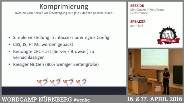 Jan Thiel: Mythbuster – WordPress Performance