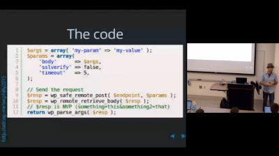 Aaron D. Campbell: Integrating WordPress with External APIs