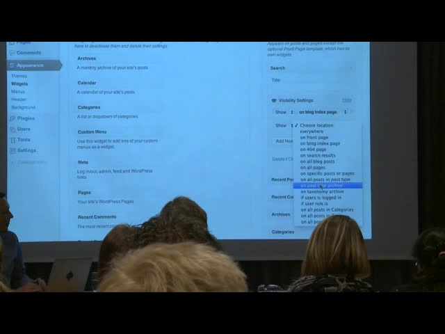 Kaspars Dambis: Widgets and Sidebars