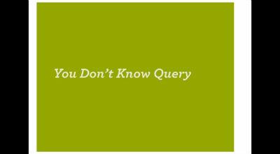 Andrew Nacin: WP_Query / WordPress In-depth
