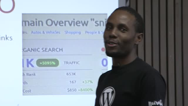 Amos Waweru: Blogging and Niche Sites