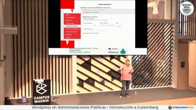 Jesús Garcia: Usos prácticos de WordPress en administraciones públicas . Y nadie nos ha matado por ello...