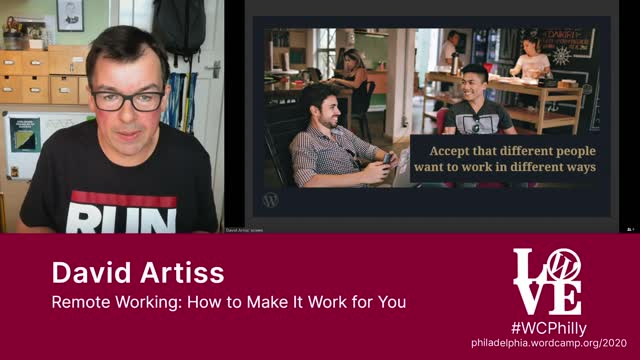 David Artiss: Remote Working - How to Make It Work for You