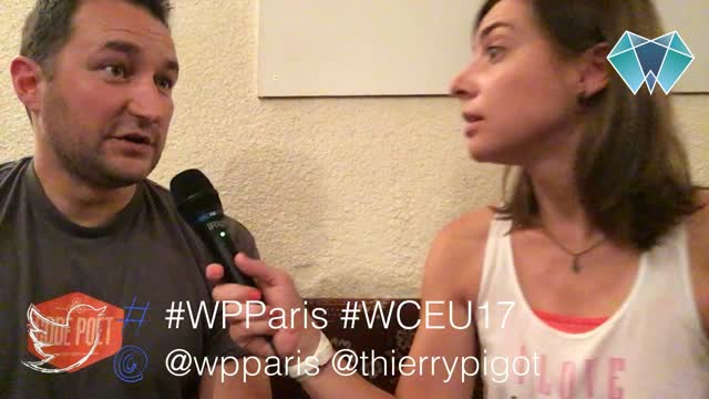 Thierry Pigot and Isabelle Garcia: Behind The Scene Of a WordPress Meetup in Paris