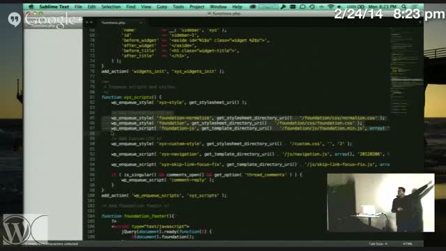 Steve Zehngut: Theme Development With Foundation Framework