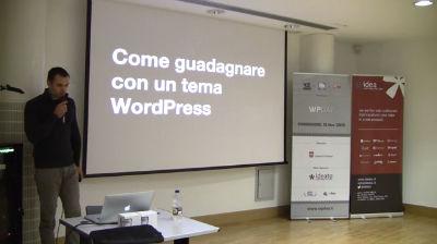 Federico Pian: Come guadagnare con un tema WordPress