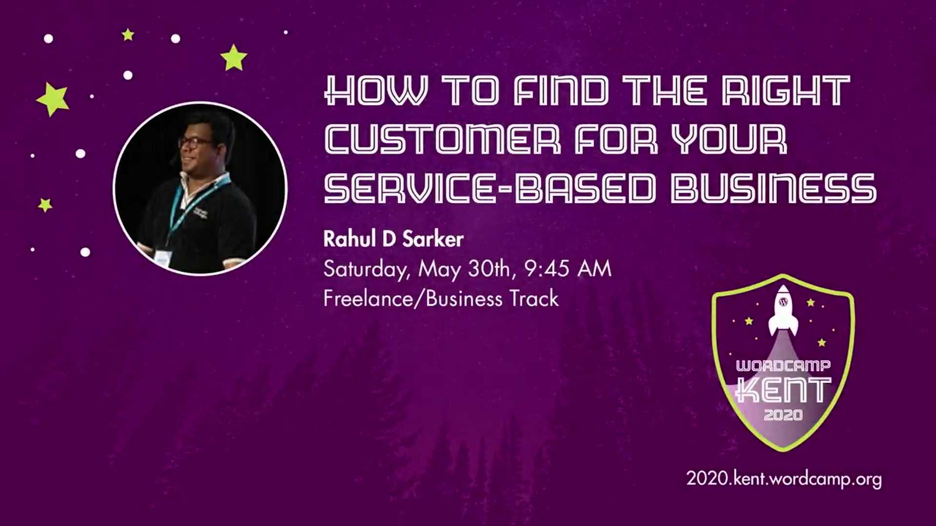Rahul D. Sarker: How to Find The Right Customer For Your Service-Based Business