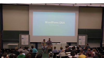 Dominik Schilling, Konstantin Obenland: WordPress Q and A