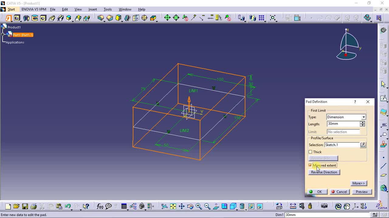 Catia v5 tutorial image collections any tutorial examples catia v5 tutorials logiciel edifiers baditri image collections baditri Gallery