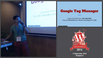 Tony Bui: Optimising The Website With Google Tag Manager