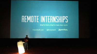 Franz Vitulli: Remote Internships – They're Here, They're Real, They Work