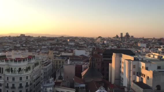 Stunning Views From The Rooftop At Azotea In Madrid Alicia