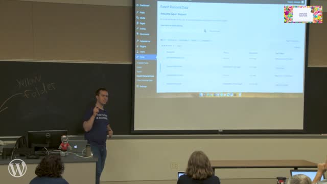 Brian DeConinck: Introduction to WordPress Privacy