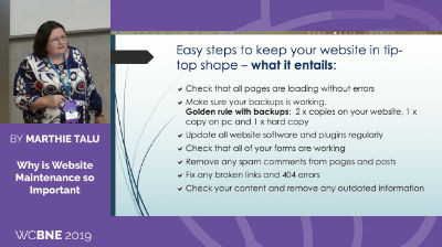 Marthie Talu: Why is Website Maintenance so Important