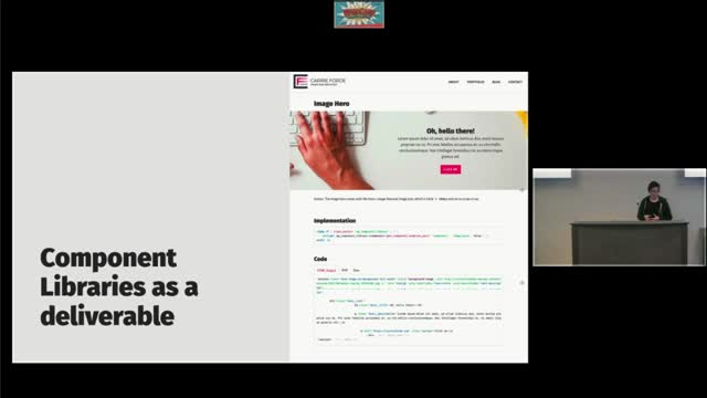 Carrie Forde : Using Component Libraries for Rapid Theme Development