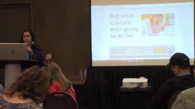 Christina Hills: Beginner's Bootcamp - How to be Strategic About Getting Content in Your Site