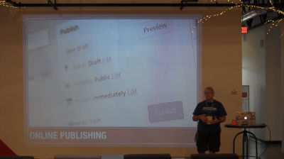 Todd O'Neill: Web Publishing with WordPress Across the Curriculum