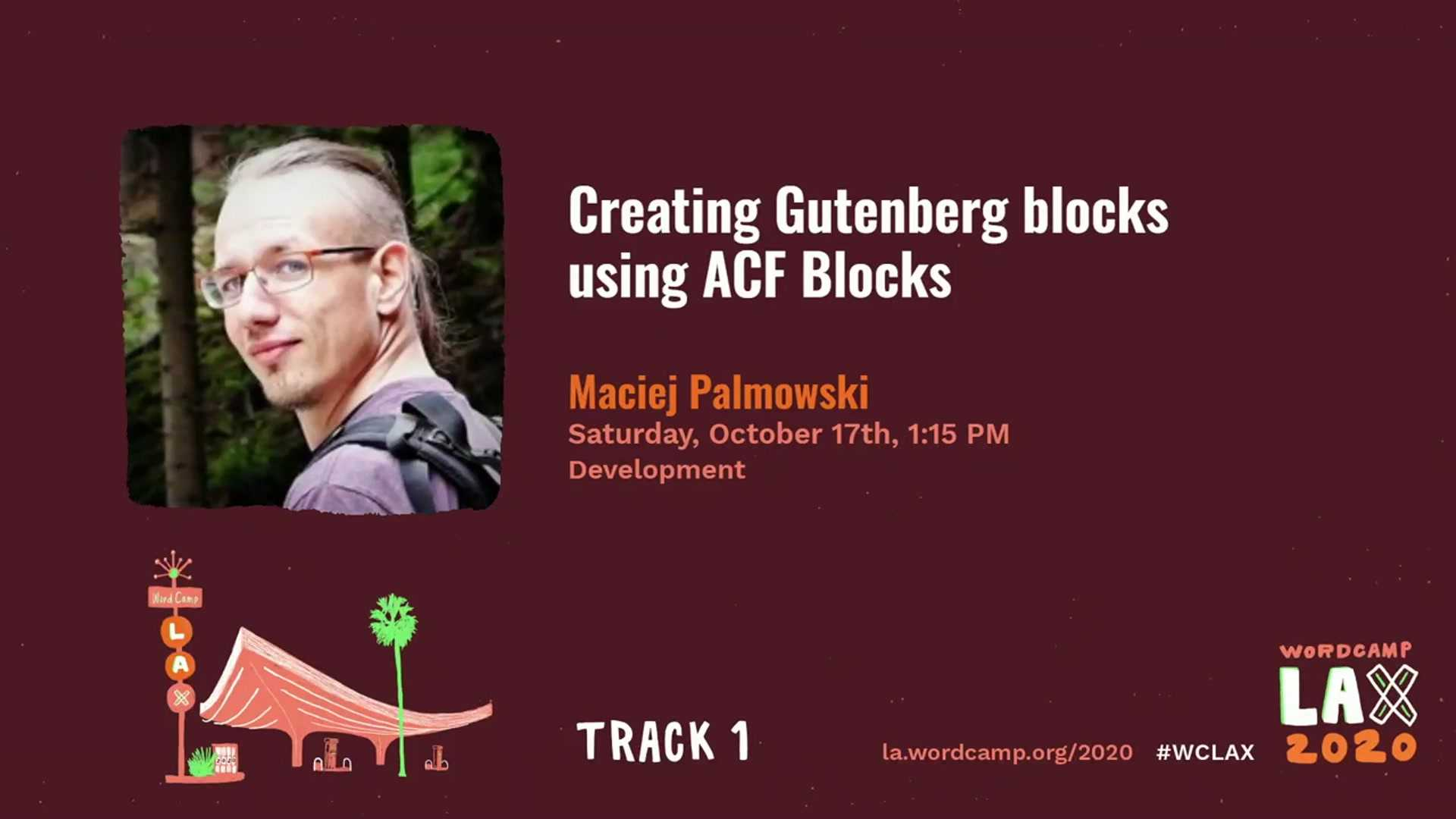 Maciej Palmowski: Creating Gutenberg Blocks Using ACF Blocks