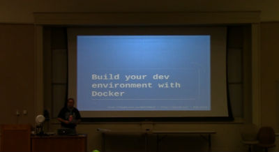 Jonathan Brinley: Build Your Dev Environment With Docker