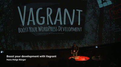 Hans-Helge Bürger: Boost Your Development with Vagrant