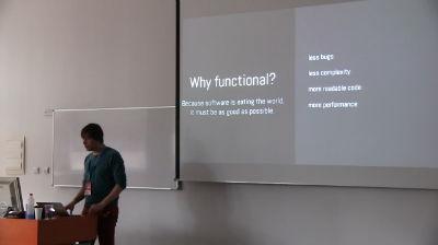 Aktuální trendy v JS z pohledu php developerů od Daniel Steigerwald