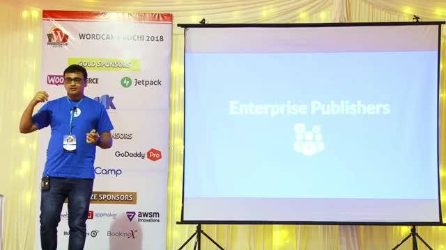 Nirmal Desai: WordPress for Enterprise publishers