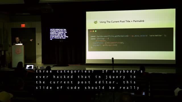 Josh Pollock: (Slightly) Advanced Topics In Block Development