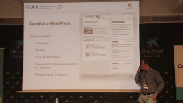 Carlos Casado: Mosaic, o cómo una revista digital funciona mejor con WordPress