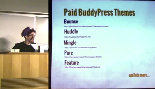 Tammie Lister: Express Yourself with BuddyPress Themes