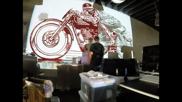 KCMO Speed Shop Mural