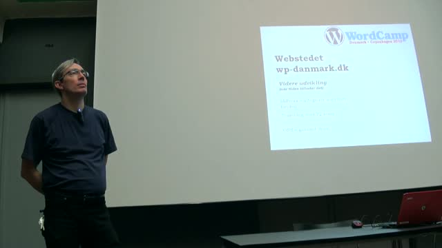 Mark Gazel: WordPress Denmark status update