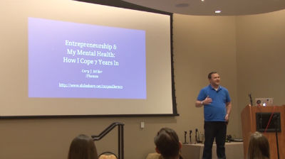 Cory Miller: Entrepreneurship and My Mental Health