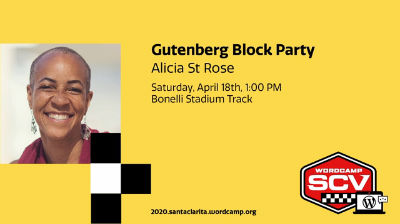 Alicia St. Rose: Workshop - Gutenberg Block Party