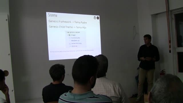 David Perez: Introducción a Genesis Framework