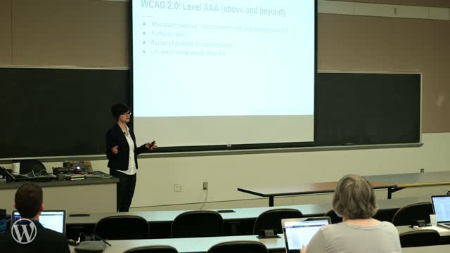 Alisa R. Herr: Web Accessibility for Everyone