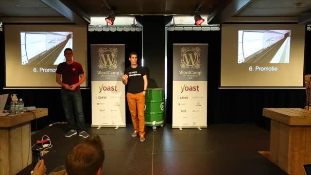 Gijs Hovens and Taco Verdonschot: Zelf aan de slag met het organiseren van een meetup: 10 tips