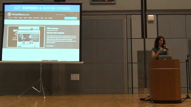 Sara Rosso: WordPress Use Cases in Enterprise, Media, and Government (2/2)