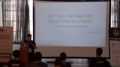 Felix Arntz: Getting the REST API ready for Multisite