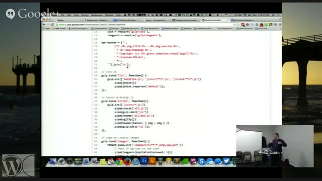Brandon Dove: Using Gulp For WordPress Development