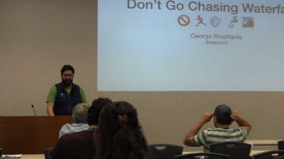 George Stephanis: Don't Go Chasing Waterfalls