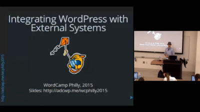 Aaron D. Campbell: Integrating WordPress with External APIs